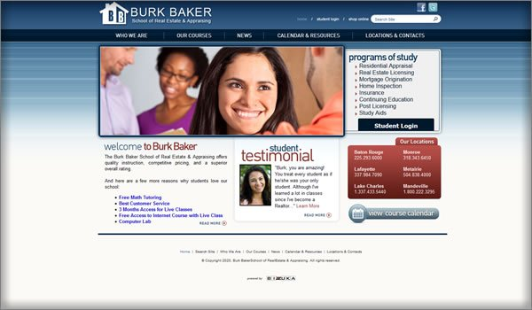 Burk Baker School of Real Estate and Appraising