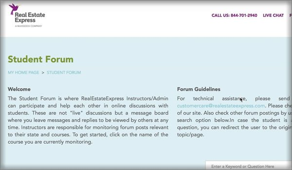 Forum for Students