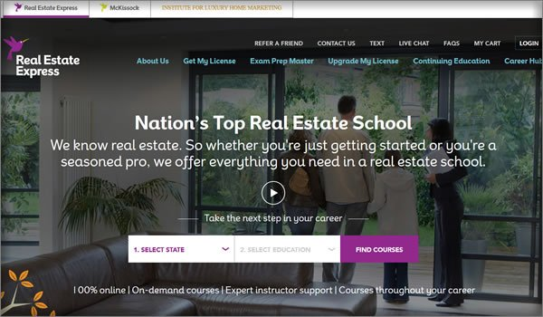 real estate schools in Washington state