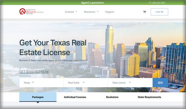 best online texas real estate license training courses